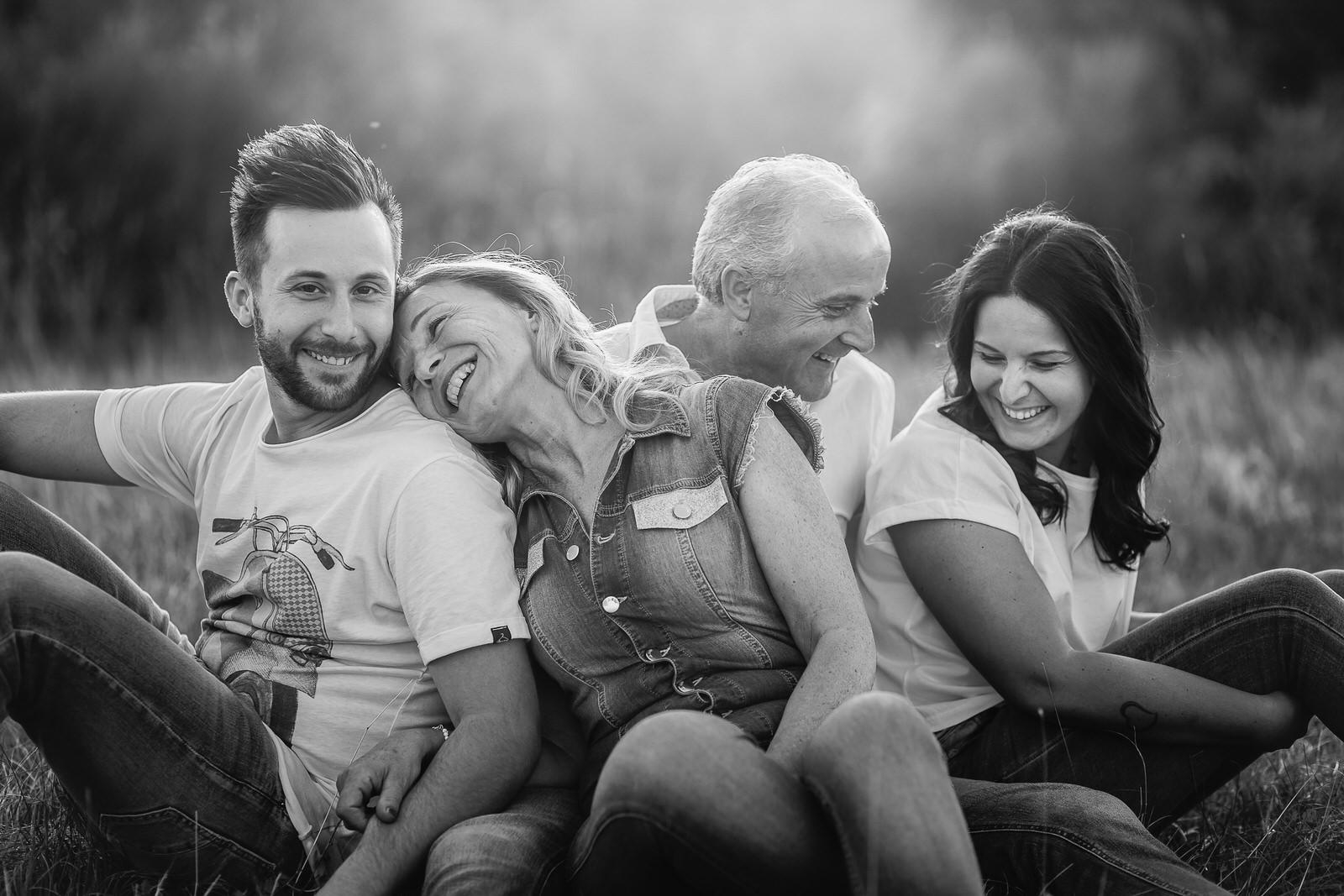 Fotografo di famiglia nelle Marche