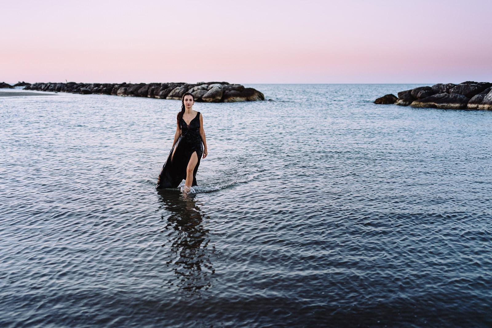 Foto al mare ad Ancona