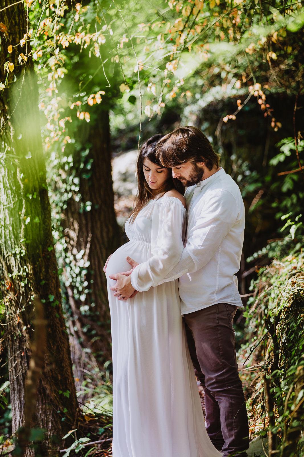 Servizio fotografico di gravidanza nelle Marche